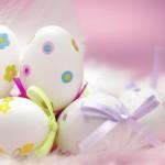 Пасхальные кролики, пасхальные деревья и другие праздничные украшения
