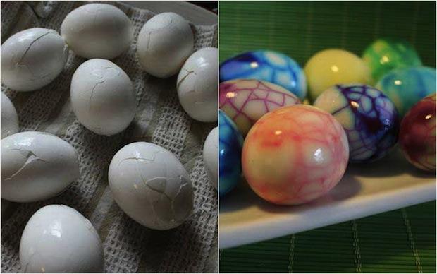 Как сделать красивое яйца
