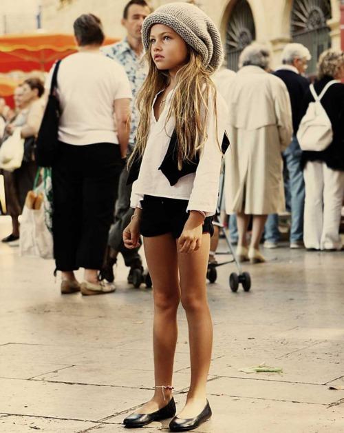 Самые модные девушки модели