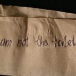 Prezentare de Tatiana Fiodorova «Something about toilet paper» @ [KSA:K] // 30.08