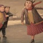 Зима и застолье Владимира Любарова