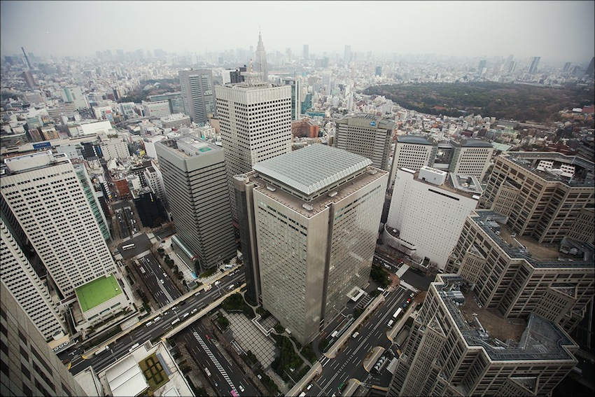 Синдзюку — in Tokyo, Japan.