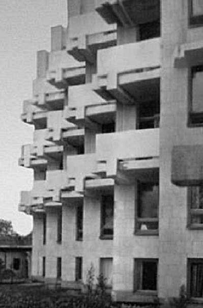Новое здание больницы. 1972 год.