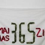 PROTEST ÎN VÎNT: Au mai rămas 365 zile