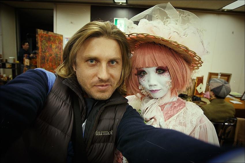 Я на другой планете с местным жителем)) Это Минори / http://minori.co/ — with Minori Asai in Tokyo, Japan.