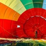 Фоторепортаж: Полёт на воздушном шаре