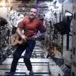 Первое музыкальное видео, записанное в космосе