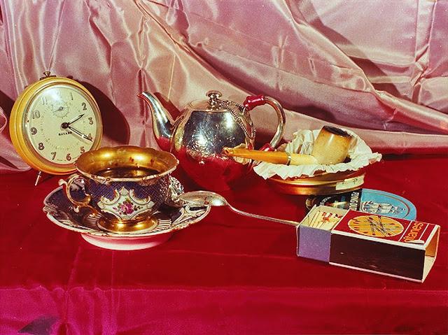 Isaac Kitrosser ~ A l'heure du café