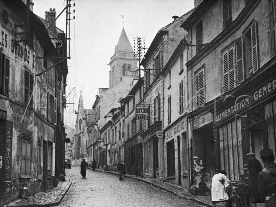 View of the Town of Cormeilles-En-Parisis Where Daguerre was Born Kitrosser