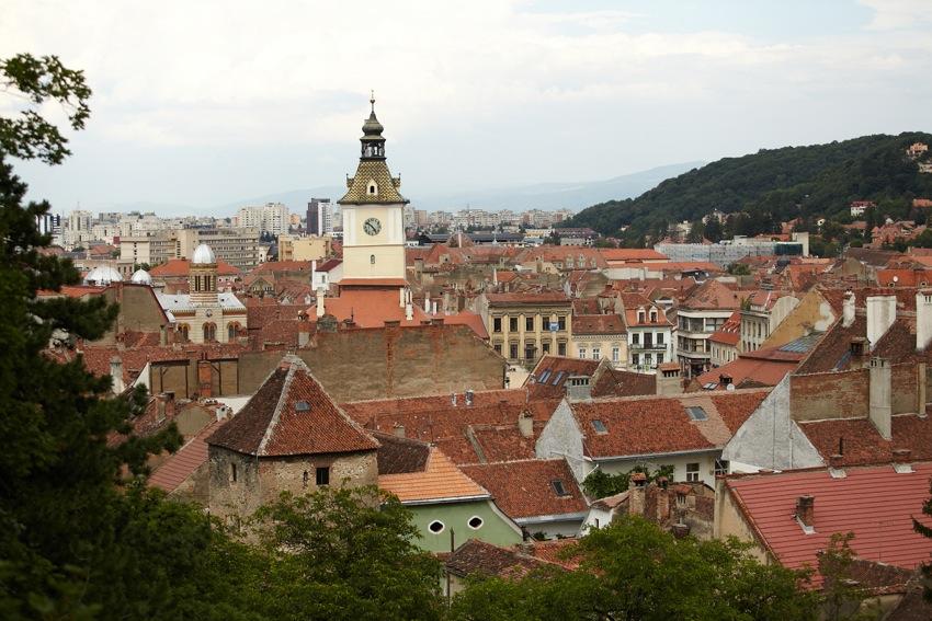 Braşov, vedere din Turnul Negru