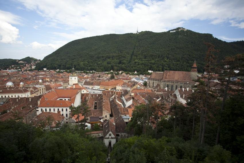 Braşovul de Sus (vedere din Turnul Alb)
