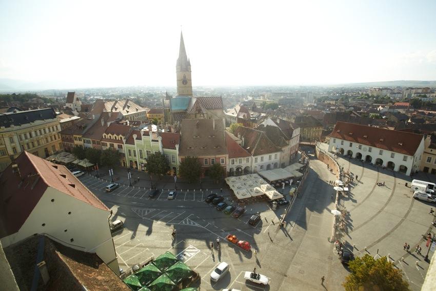 Piaţa Mică (Vedere din Turnul Sfatului)
