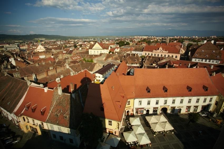 Sibiu (Vedere din Turnul Sfatului)