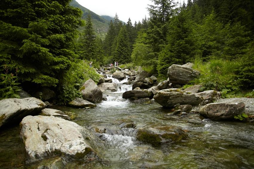 Urcând spre Cascada Bâlea