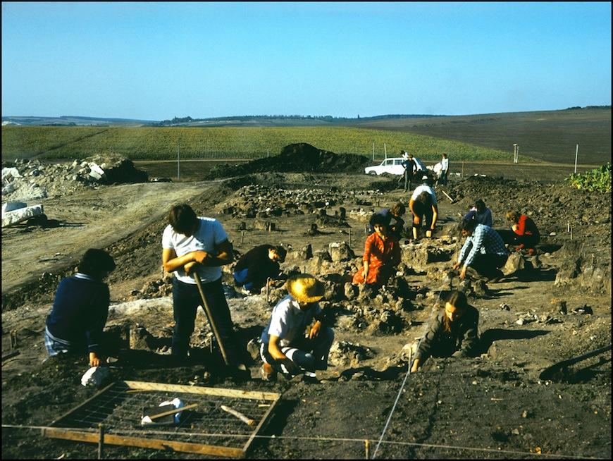 Археология (80-тые годы). Автор- Иван Кибзий.