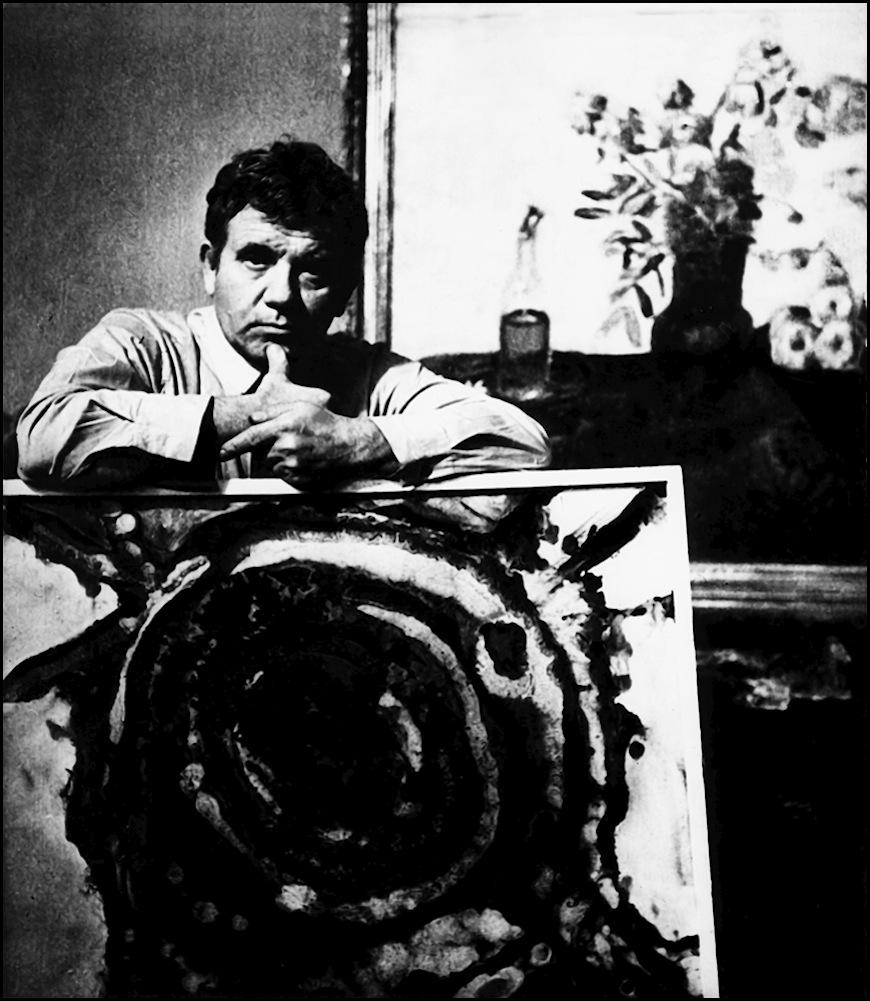 Классик молдавской живописи - Михай Греку (70-тые годы). Автор- Иван Кибзий.