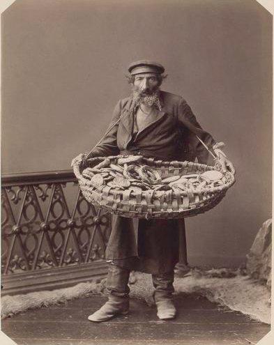 Еврей-разносчик бубликов
