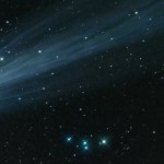 Фото: комета C/2012 S1 над Кишинёвом