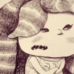 «Почему девочка злится» — рисунки Дмитрия Гапчинского