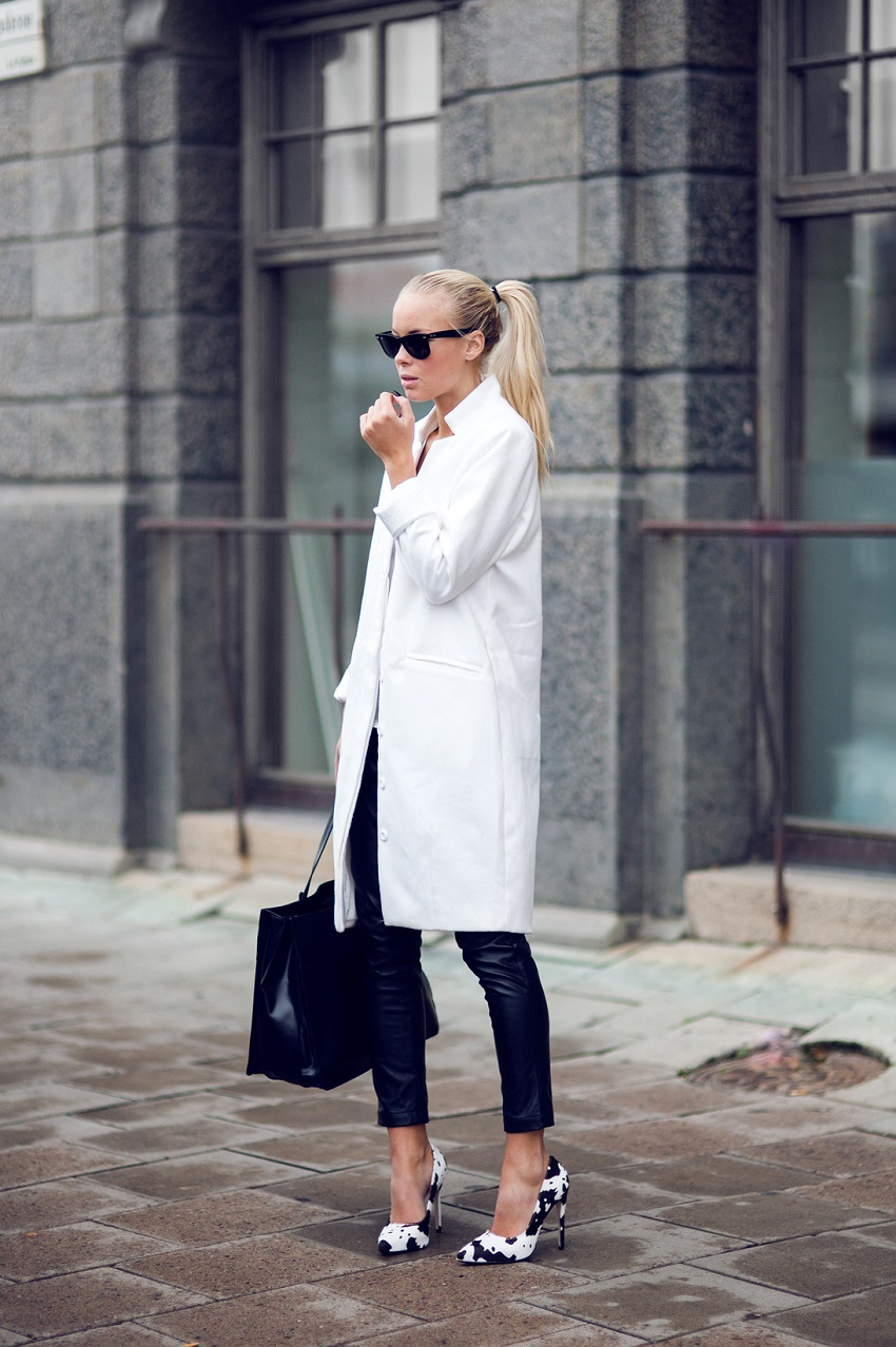 20 trendy black and white outfit ideas with pictures