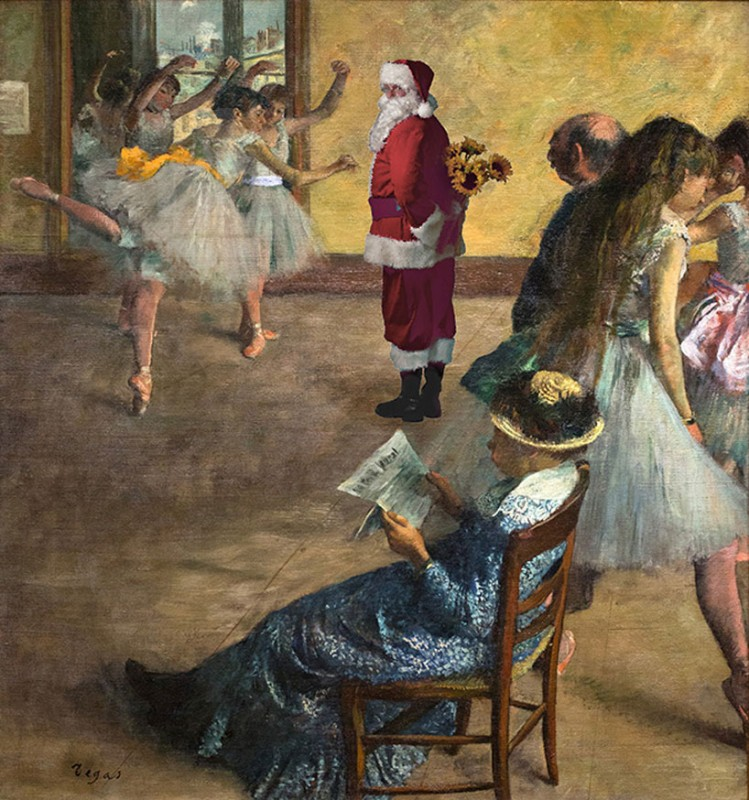 'ballet class' by edgar degas, 1880