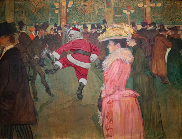 'dance at the moulin rouge' by henri de toulouse-lautrec, 1890