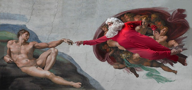 'the creation of adam' by michelangelo, 1511–1512
