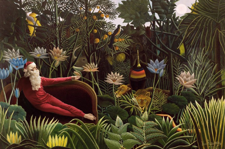 'the dream' by henri rousseau, 1910
