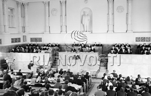 1971 год, сессия Верховного Совета МССР. Фото: А. Варфоломеев/РИА Новости