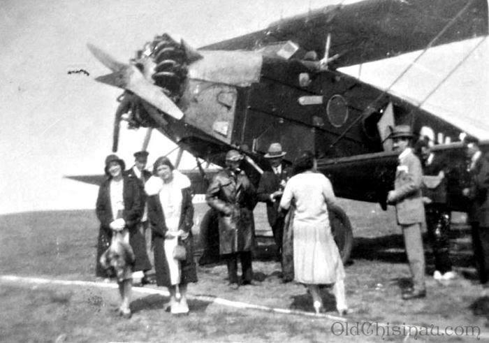 Кишинёвский аэропорт, 1920-е.