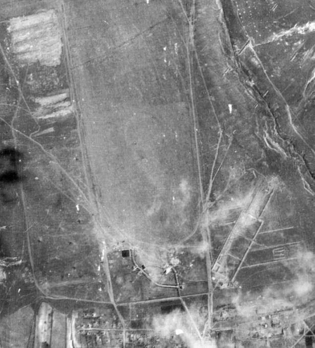 Кишинёвский аэропорт в 1944 году.