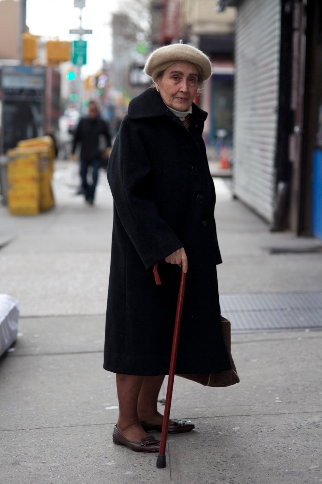 Old lady fashion show 45