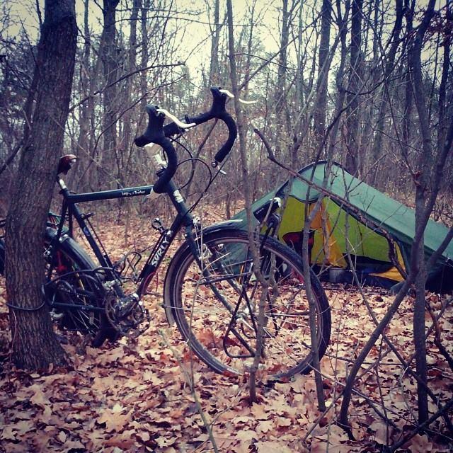 Привал в молдавском лесу
