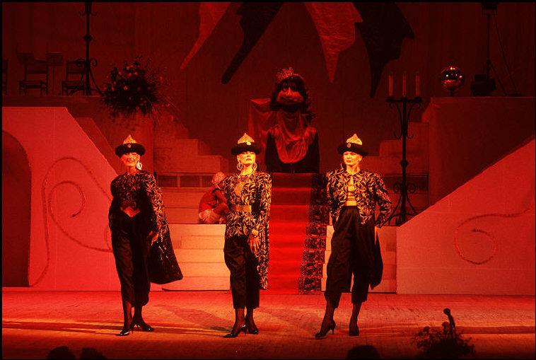MOLDAVIA. The capital Kishinev. A fashion show. 1988.