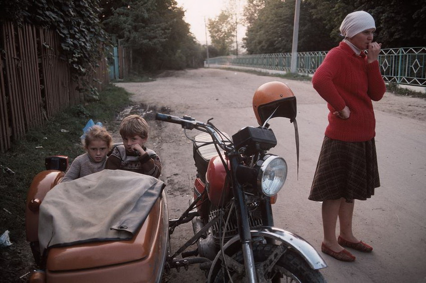 "MOLDAVIA. Village of Kounicha (""Old Believers""). 1988."