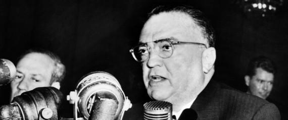 John Edgar Hoover, Director of the Feder