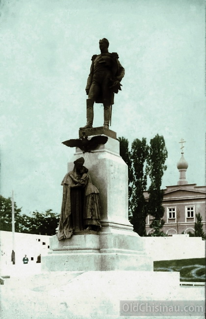 Памятник императору Александру I, 1914 год.