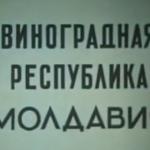 Видеоархив: Виноградная республика Молдавия (Киевнаучфильм)
