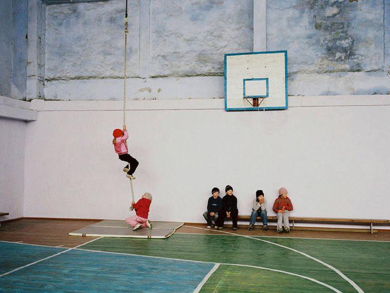7. Школьный спортзал в одном из населенных пунктов южной части Молдовы.