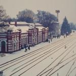 Серия открыток «Железнодорожные вокзалы Молдовы»