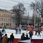 Кишинёвский каток на центральной площади закроется в последний день зимы