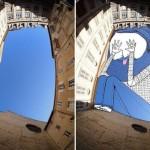 «Рисунки по небу» Томаса Ламадью