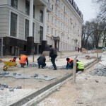 Начались активные работы по строительству пешеходной улицы