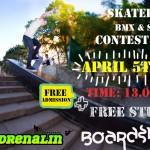 Season Opening Skateboard, BMX & Scooter Contest