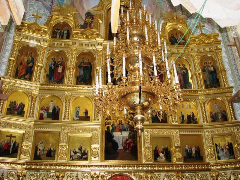 Иконостас Николаевского собора. Фото: moldovenii.md