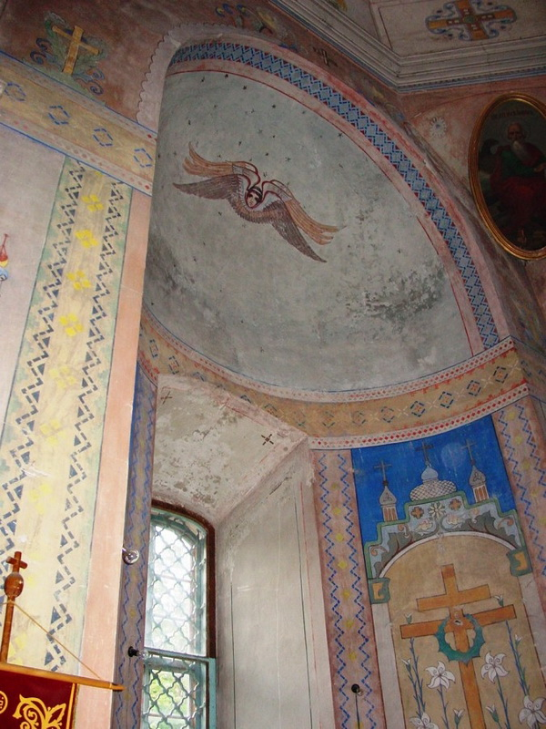 Внутри Успенской церкви. Фото: moldovenii.md
