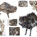 """Sculptură din metal"" @ Shopping MallDova"