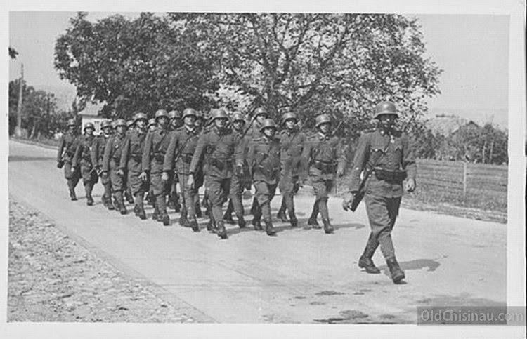 Бельцы. Хорватские солдаты.