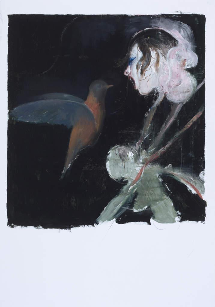 Flower and bird, 2013