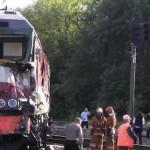 В Подмосковье произошло столкновение поезда Москва — Кишинёв с грузовым составом